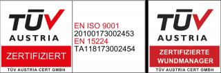 TÜV Austria zertifizierte Wundmanager